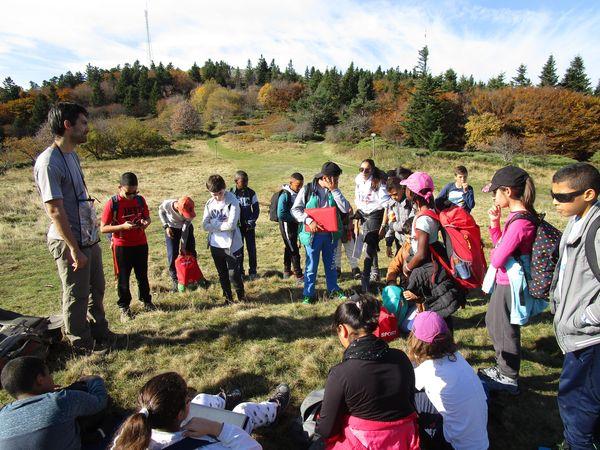 projet école en nature montagne lyon